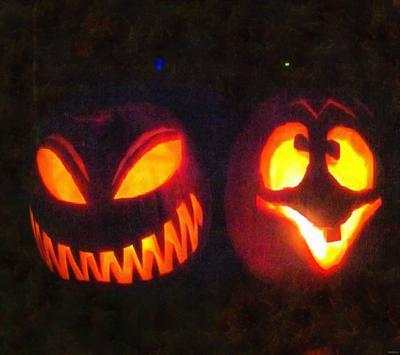 pumpkin, holiday, celebration, fun, carnival, smile, face, Halloween, All Saints' Day