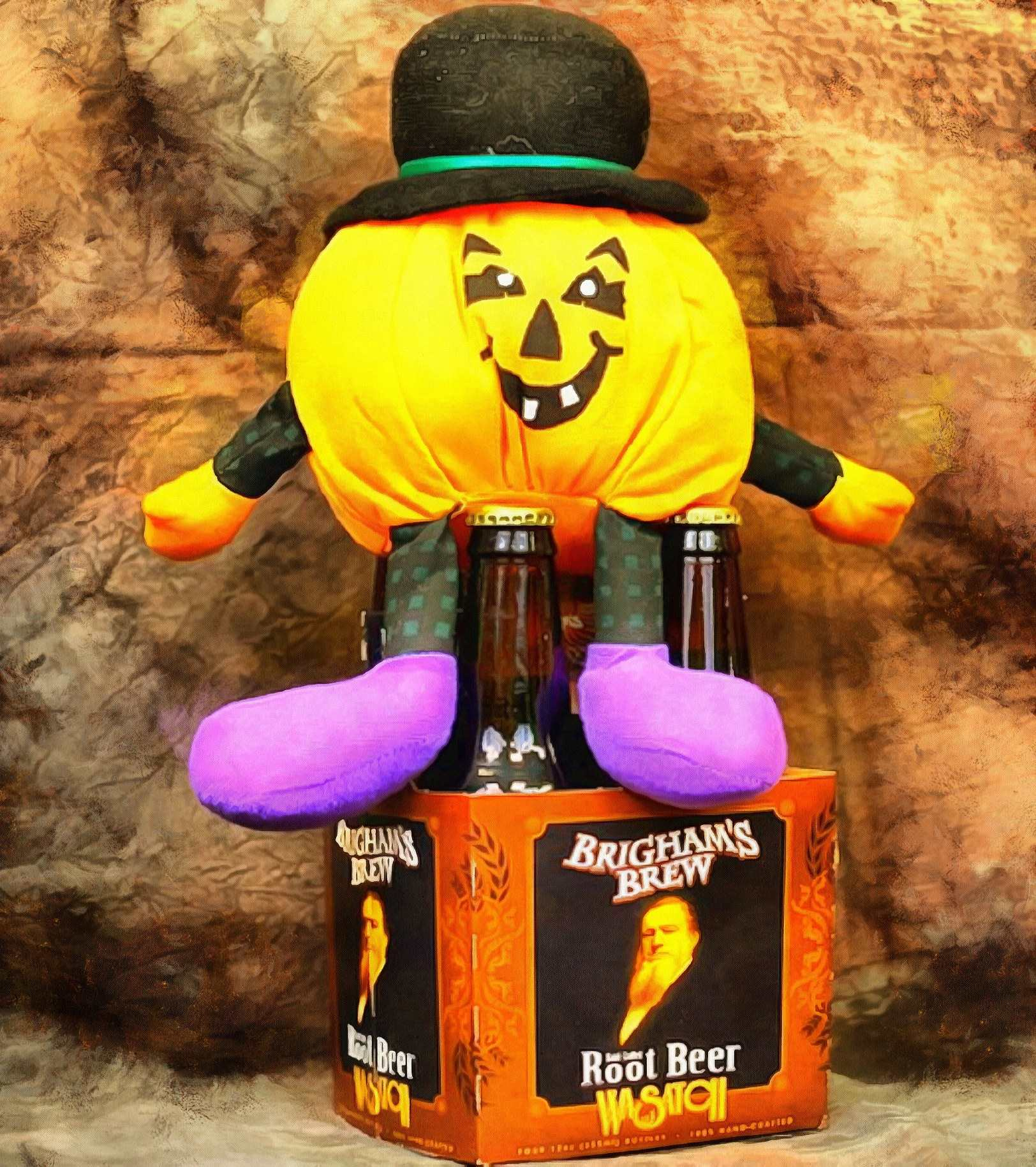 pumpkin toy, holiday, funny toy,
