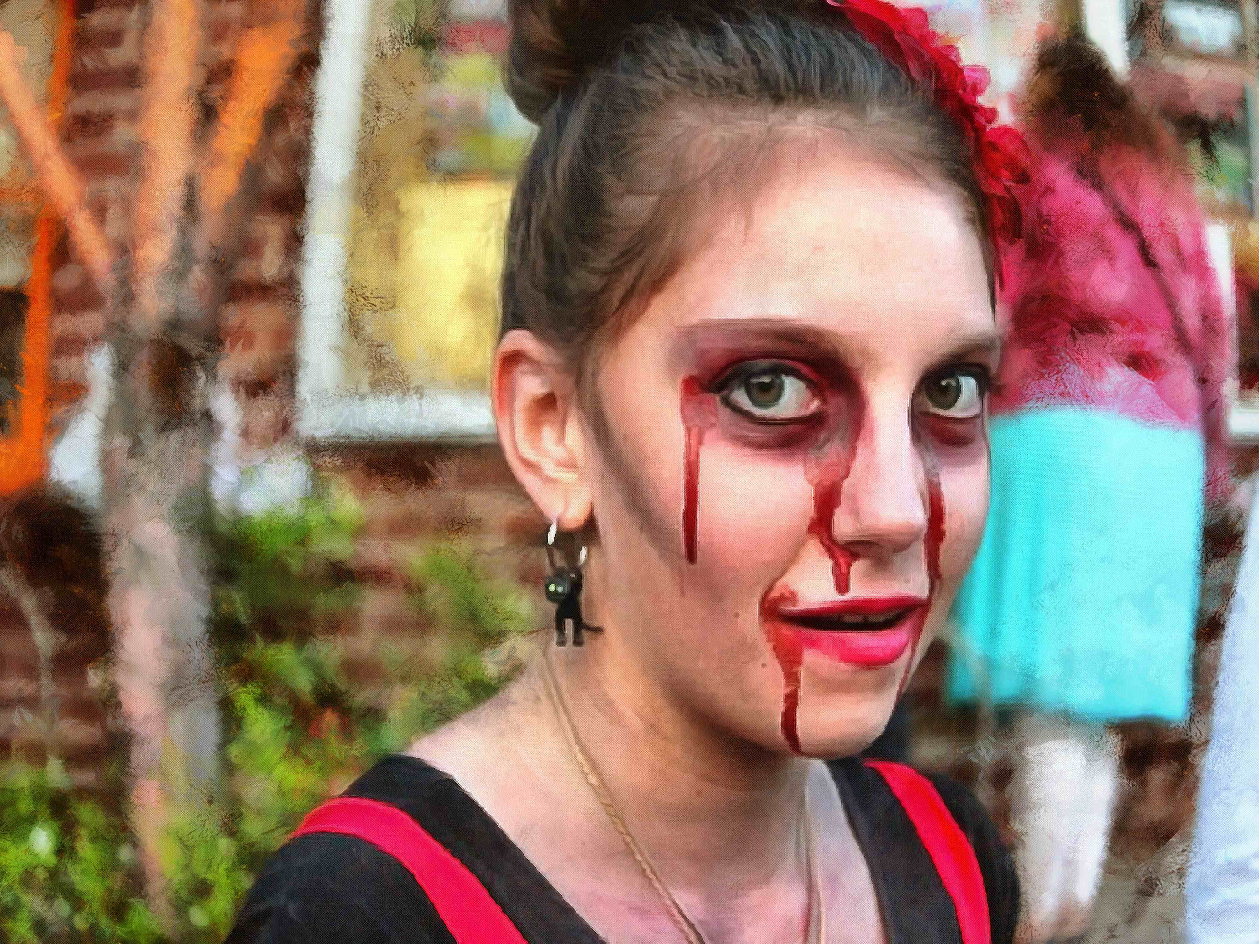 zombies, walking dead, dead, blood, monster, horror, disgusting, horrible, costume, halloween - stock free images, public domain, free images, download images for free, public domain photos, free stock image