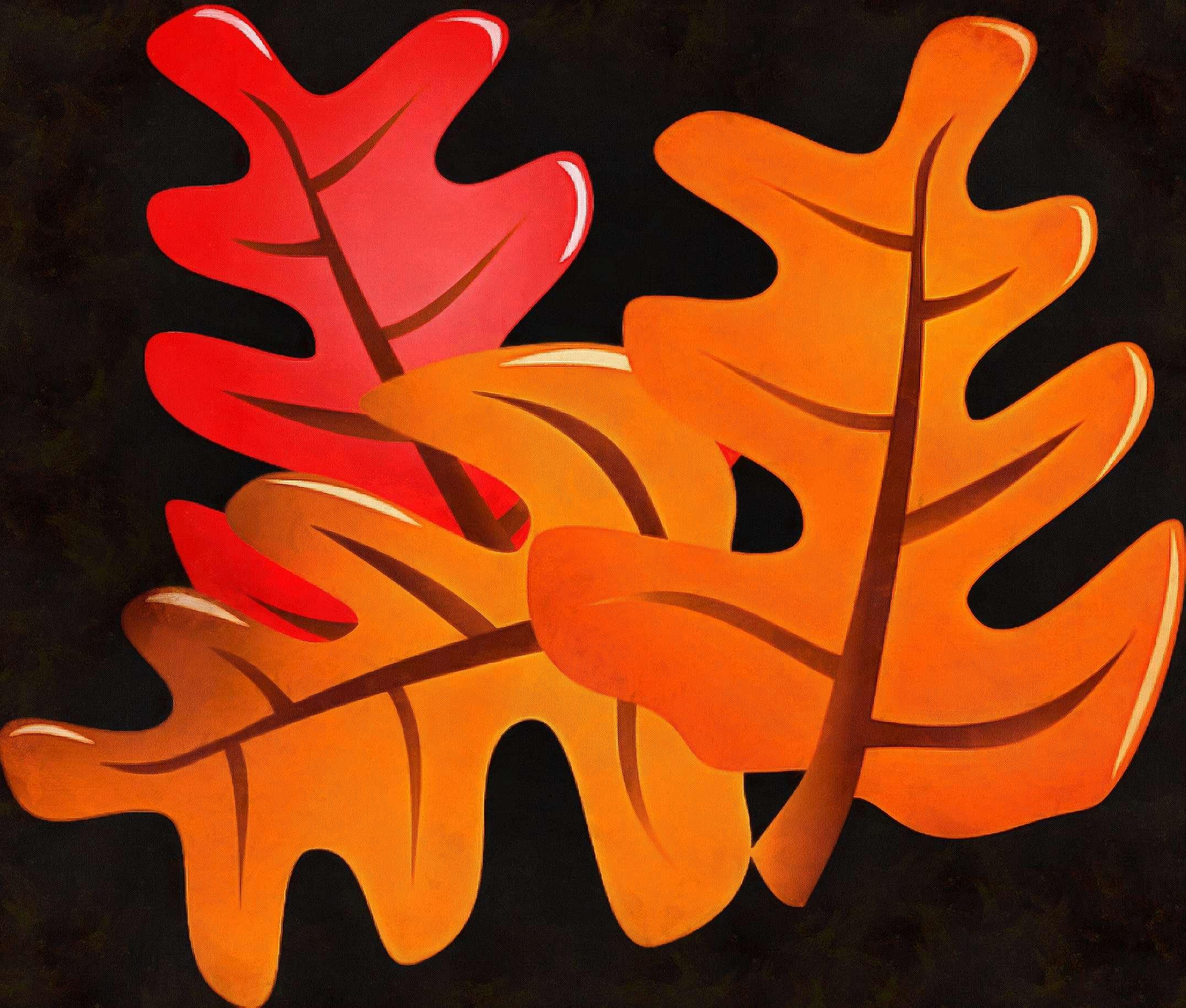 <br>oak leaves, oak, picture,