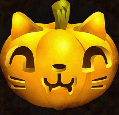 cat pumpkin, pumpkin picture, halloween, holiday,