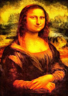 JACONDA FREE IMAGE, Mona lisa stock free image- Public domain image