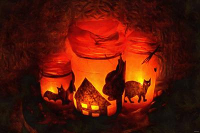 pumpkin, holiday, flame, candle, smile, candle, horror - halloween, holiday, free images, public domain images, free stock images, download images, free pictures