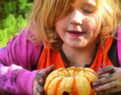girls, kids, pumpkin, holiday, flame, candle, smile, candle, horror - halloween, holiday, free images, public domain images, free stock images, download images, free pictures