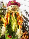 friendly scarecow, man, toy, scarecrow,