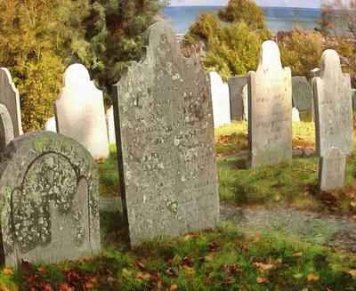 tombstone, grave,