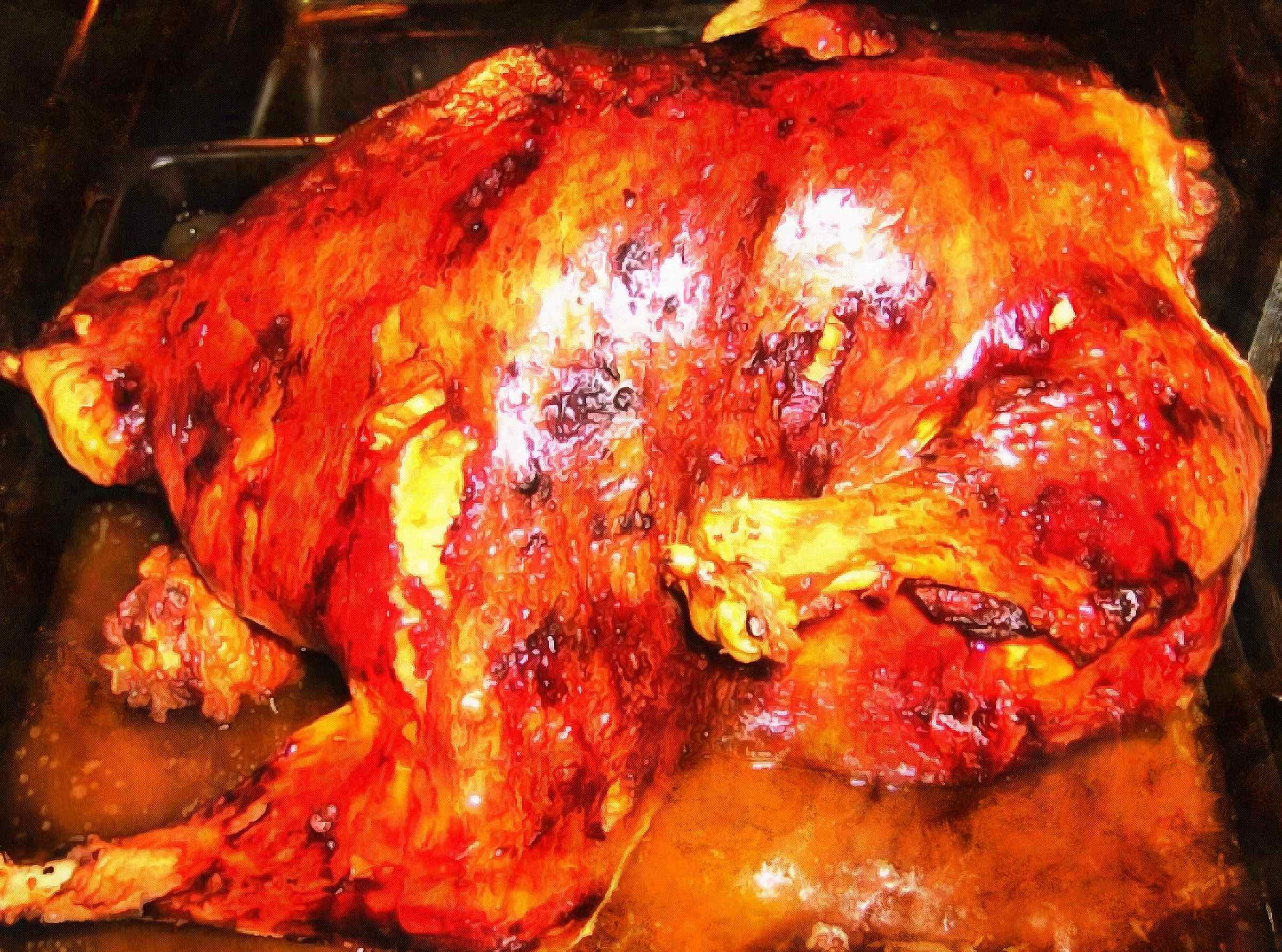 poultry, baked poultry, turkey, holiday turkey, roast turkey,  - thanksgiving, public domain images, stock free photos, free images, public domain photos, stock free images.