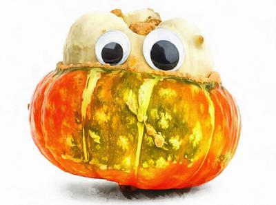 halloween holiday, pumpkins, holiday, smile, candle, Halloween pumpkin