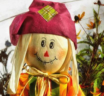 scarecrow, clown, scary clown, garden, toy, halloween - stock free images, public domain, free images, download images for free, public domain photos, free stock image