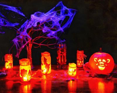lanterns, lights, light, lamp, lantern, pumpkin, night, holiday, skull, halloween, - stock free images, public domain, free images, download images for free, public domain photos, free stock image